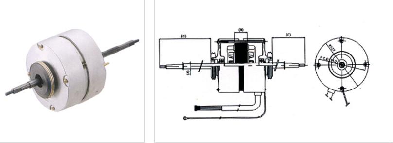 Condenser Motor IC-1 type 1