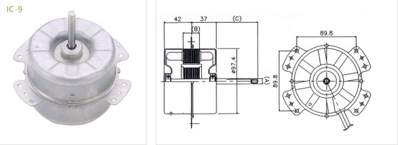 condenser motors IC-9 type 4