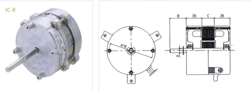 fan condenser IC-8 type 3