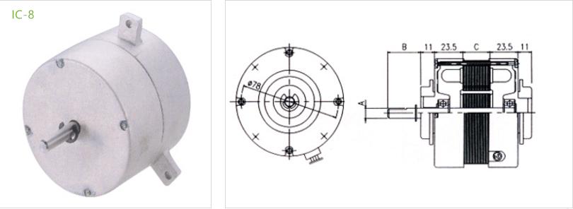 fan condenser IC-8 type 4