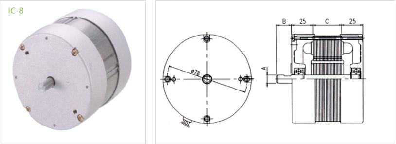 fan condenser IC-8 type 6
