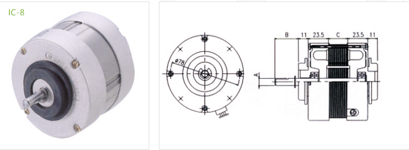 fan condenser IC-8 type 7