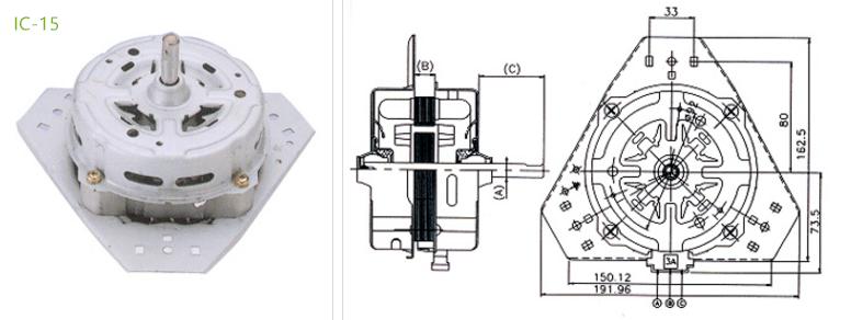 hvac condensers motor IC-15 Type 4