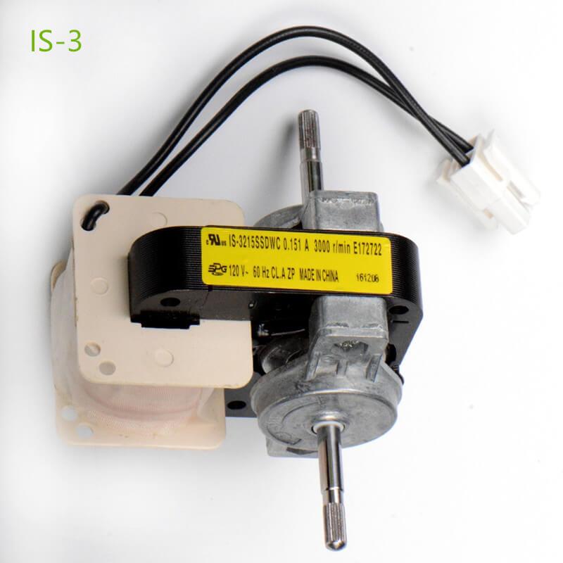shaded pole motors is-3 type 2