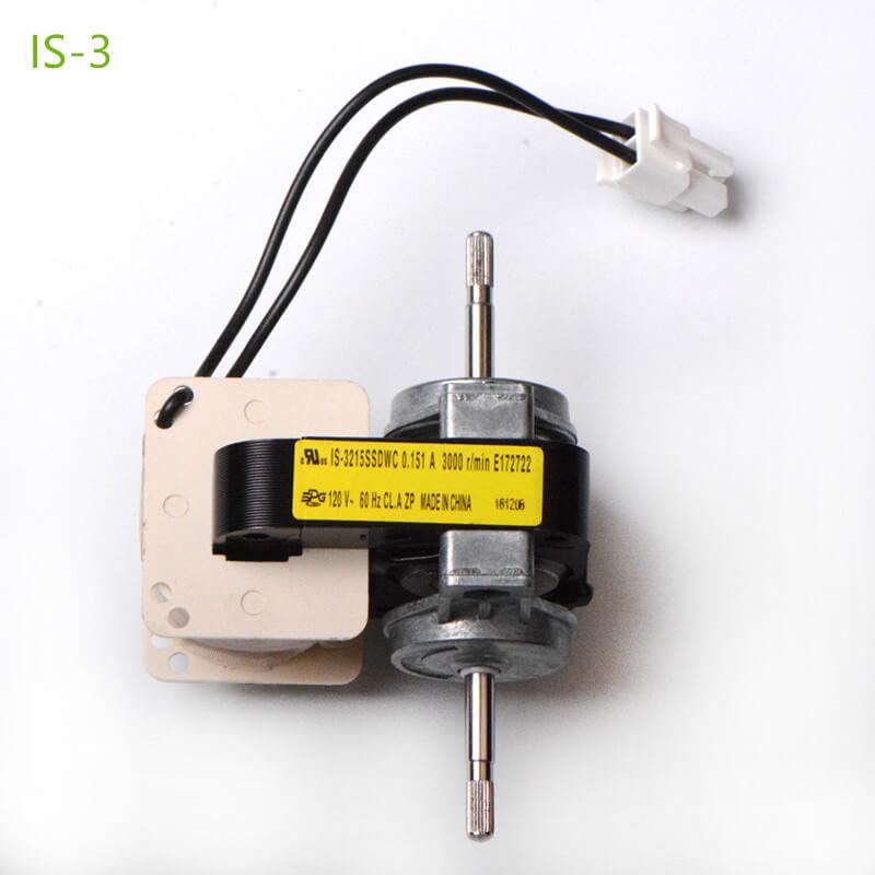 shaded pole motors is-3 type 3